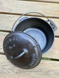 Griswold 6 Large Logo Tite Top Dutch Oven 2606 2605