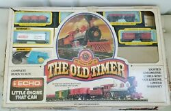 Vintage Bachmann Ho The Old Timer Train Set In Box Optional Shipping Prices.