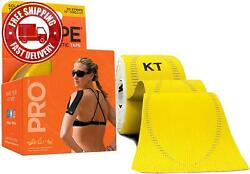 Kt Tape Pro Synthetic Kinesiology Therapeutic Sports Tape 20 Precut 10andrdquo Stri