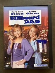 Billboard Dad DVD 2002 Mary Kate and Ashley Olsen Movie Used Nice Condition $19.99