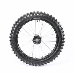 17 Wheel 70/100-17 Tire And Rim Assembly For Pit Bike Apollo Ssr Coolster 110 125