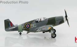 148 Hm Mustang Mk.iii 9g-e, 441 Squadron, Rcaf, May 1945 Fighter Diecast Model
