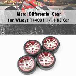 4pcs Rc Car Tires And Wheels For Wltoys K969 K989 K999 P929 Iw04m Awd Iw02 Rm02 Br