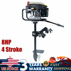 225cc 8hp Outboard Motor Boat Engine Fishing Boat Engine Air Cooling 4 Stroke