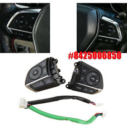 2x For Toyota Camry Rav4 Avalon 8425006850 Steering Wheel Cruise Control Switch