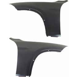 For Bmw 440i Xdrive Fender 2017 Rh And Lh Side Pair/set Front Capa Bm1240164