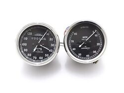 New Replica Smith 0-120 Miles Speedometer And Tachometer Set @justroyal
