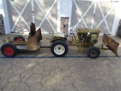 Vintage 1961 Bolens 233 Ride - A - Matic Lawn And Garden Tractor, Many Attachments