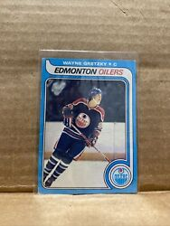 1979-80 O-pee-chee 100 Authentic Rookie 18 Wayne Gretzky Oilers First Print