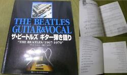 Guitar-playing Talk The Beatles/ 1967-1970 Guitar Score Out-of-print Rare Books