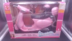 Barbie Vespa Motor Scooter 88917 Mattel 2003 Pink New In Box Very Rare Import