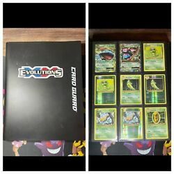 Xy Evolutions Complete Master Set Binder 196 Cards All Near Mint N/m Pokemon Tcg
