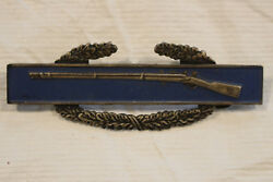 Wwii Us Army Cib Combat Infantry Badge Sterling Ref9