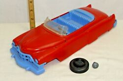 Ideal Fix It Convertible Cadillac Plastic Toy Car 1950s For Parts