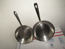2x-all Clad 10 Inch Fry Pan Usa Made Quality Skillet Used