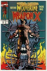 Marvel Comics Presents 72 Origin Of Weapon X Wolverine 1991 Nm- White Pages