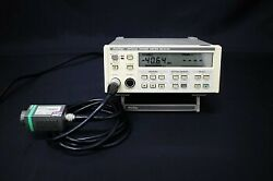 Normal Works Anritsu Ml910a Ma9802a Optical Power Meter