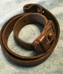 Sling For Yugo 48 M24 And German 98 Mauser 8mm Rifle W/keeper And Stud.