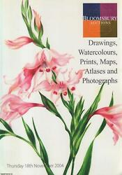 Bloomsbury Auctions. Drawings Watercolours Prints Maps Atlases And Photograp