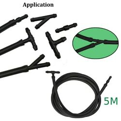 5m Windshield Wiper Tube T / Y / I Type Splitter Washer Hose + 30pcs Connector