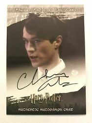 Harry Potter World 3d Series 2 Tom Riddle Christian Coulson Autograph Auto Card