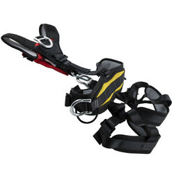 Outdoor Sports Tree Rock Climbing Rappelling Safety Harness Full Body Seat Belt