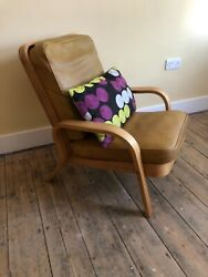 Bentwood Armchair By Eric Lyons 1950andrsquos Tecta Chair In Walnut