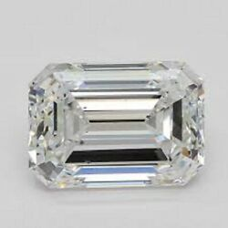 Gia Certified Natural White Diamond 1.00ct. J Si2 Emerald Cut Eye Clean For Ring
