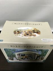 Sylvanian Families Country Flower Shop Calico Critters With Box Used