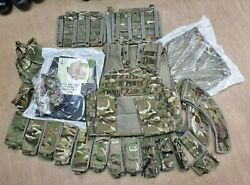 New British Army Mtp Multicam Osprey Mkiva Body Armour Cover Vest Kit 180/104 2