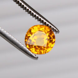 Copper Bearing Oregon Sunstone 3.55 Ct Flawless-for Jewelry Loose Gemstone