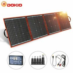 150w 12v Flexible Foldable Portable Solar Panel For Outdoor Camping Boats Home
