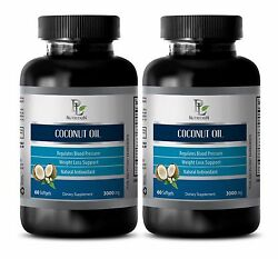 Essential Oils - Coconut Oil 3000 Mg-helps To Maintain Healthy Pre-menopausal 2b