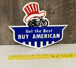 Get The Best Buy American Metal Sign Motorcycle Hot Rod United States Gas Oil
