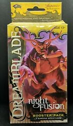 Sealed Dreamblade Night Fusion Booster Pack 7 Superior Strategy Miniatures
