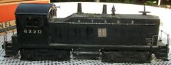 Lionel 6220 Sf Diesel Switcher Locomotive With Bell Ringer