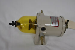 Racor 500fg Diesel Fuel/water Separating Filter With 1/4 Id X 3/8 Brass Hose B