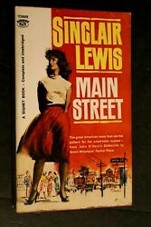 Rare 1961 T2005 First Signet Printing Main Street By Sinclair Lewis Reduced