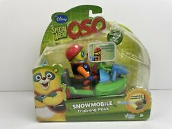 Disney Special Agent Oso Snowmobile W/ Figure 2010 Learning Curve New Sealed