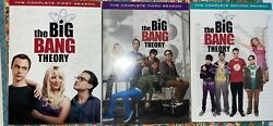 The Big Bang Theory Complete First Second And Third Season 2 And 3 Are Sealed Dvds