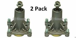 2 Pack Stens 285-585 Spindle Fits Ariens 21546238 Mcculloch Poulan 532192870