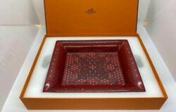Hermes Authentic Ceramic Ashtray About 21 X 17 X 3cm New Unused From Japan