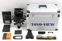 【very Rare】 Toyo View G 6x9 Camera W/guick Roll Slider From Japan R371