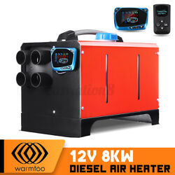 Warmtoo Diesel Air Heater 8kw 12v All In One For Truck Bus Car New