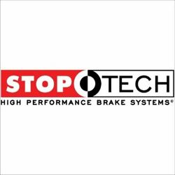Stoptech Big Brake Kit Black Caliper, Drilled Two-piece Rotor, Front