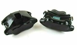 D52 Loaded Forged Aluminum Brake Calipers 4039 4040 2 Ss Pistons Black Calipers