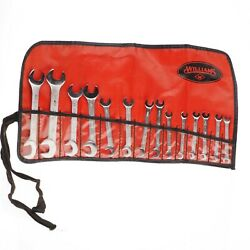👀💎 Vintage Williams 13-pc Open End Angle Wrench Set With Pouch- Superwrench 👀