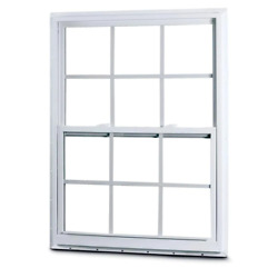 31-3/8 In. X 51-1/4 In. 50 Series Single Hung White Vinyl Window With Nailing Fl