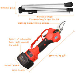 Lcd 600w 1.9m Extension Pole Electric Pruner Trimmer Fit Gardens Farms Cutting