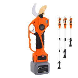 Retractable 600w 2000mah Cordless Electric Pruner Fit Parks Farms Branch Cutting